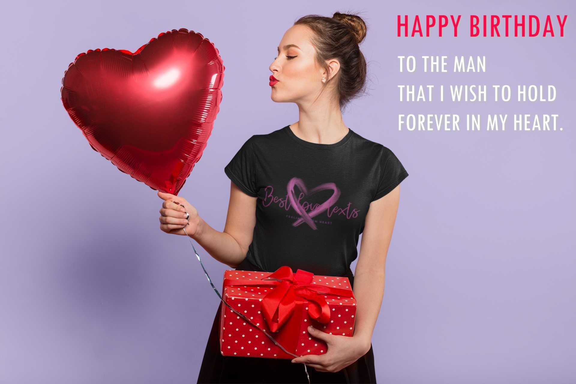 Wishing your boyfriend a happy birthday