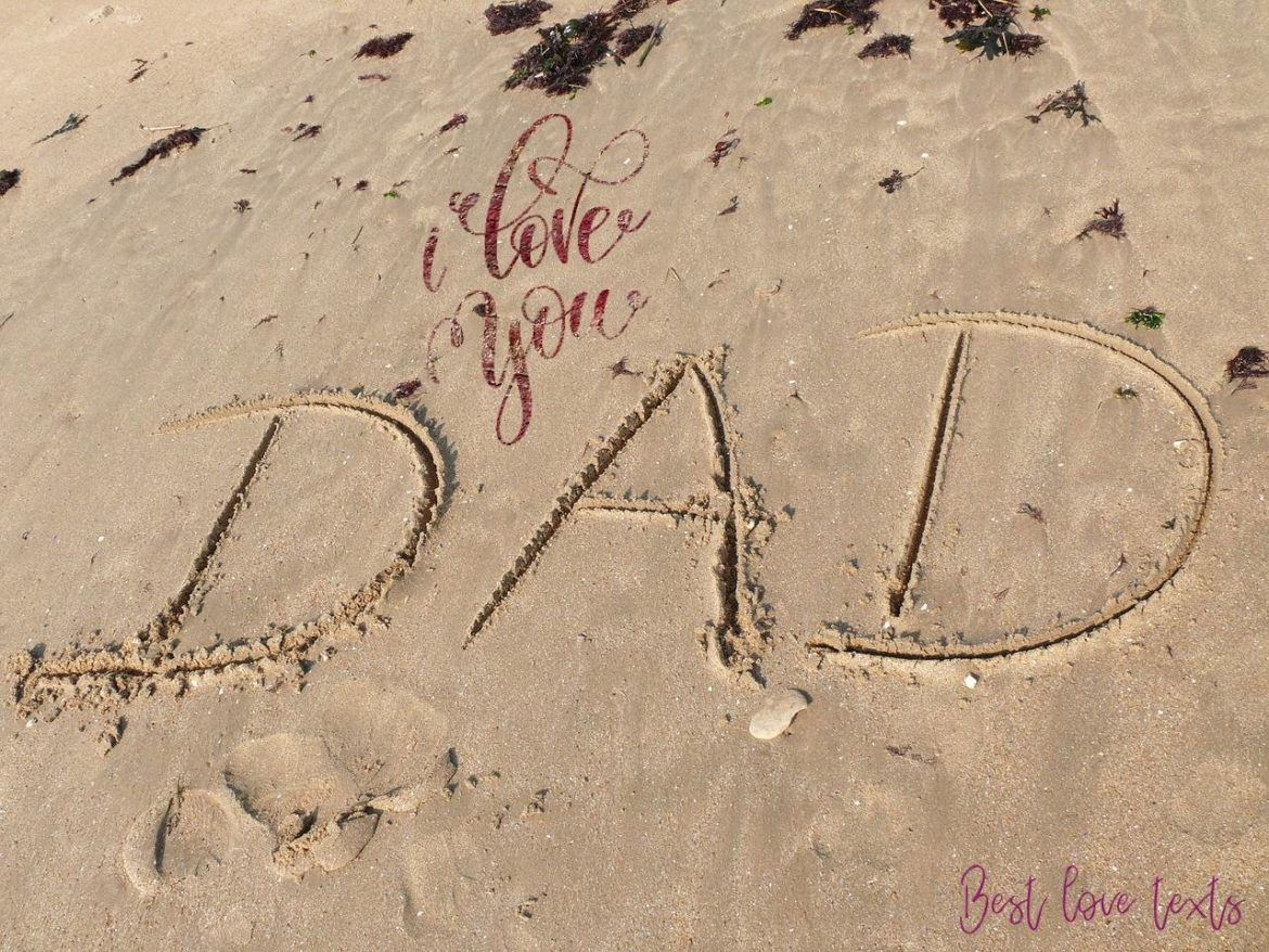 For you my Dad