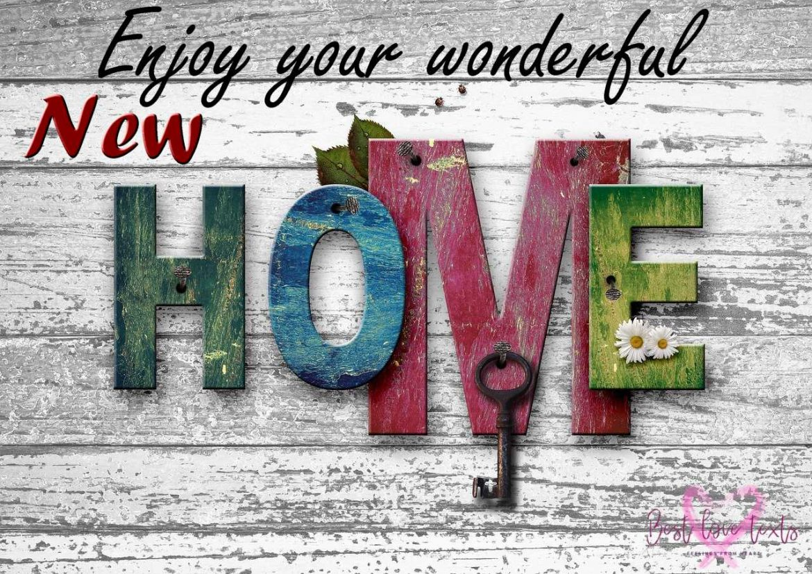 Congratulations for a New House