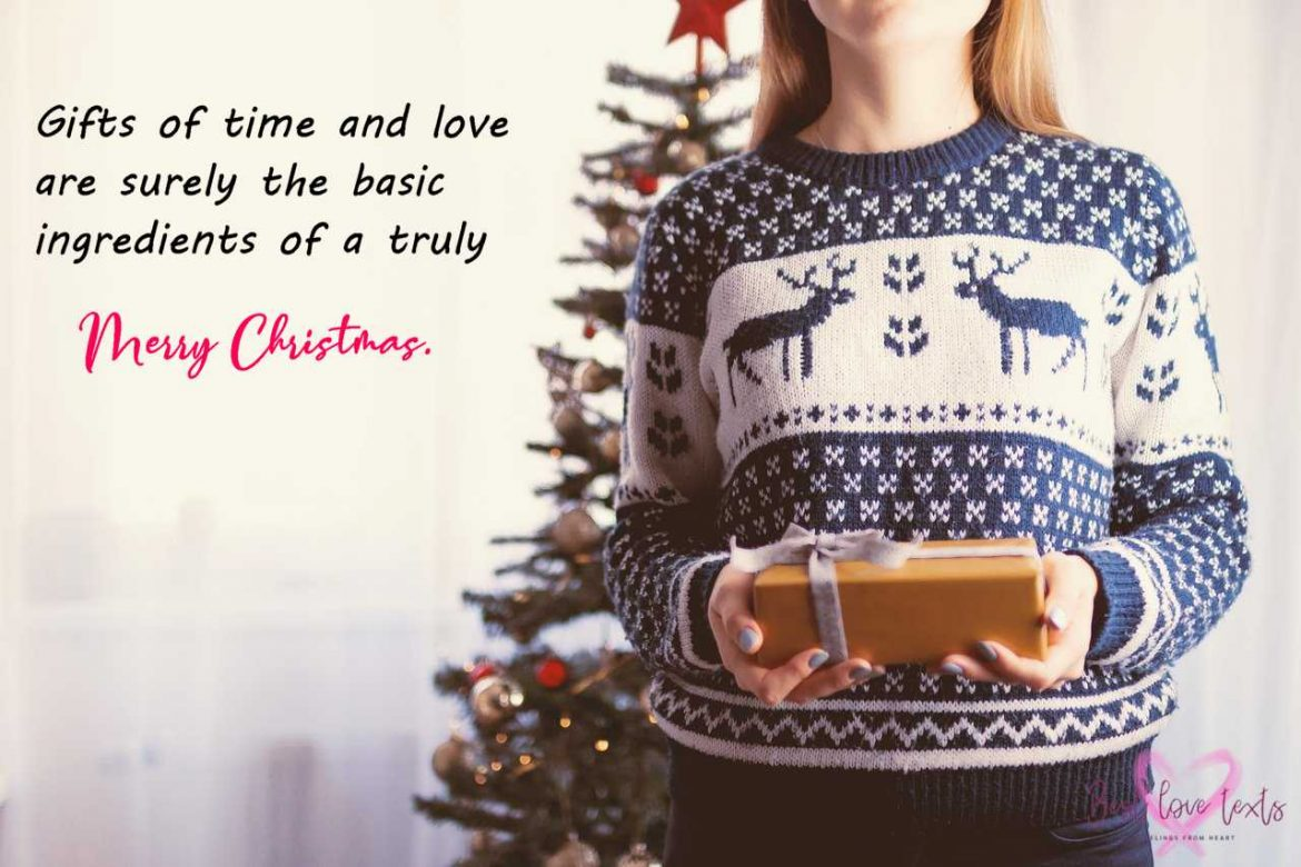 merry christmas gift quotes