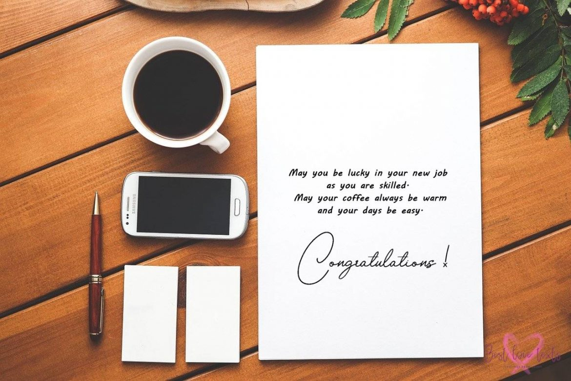 New Job Messages and Wishes