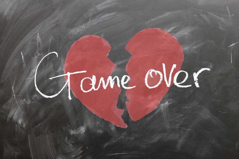 lost love or heartache