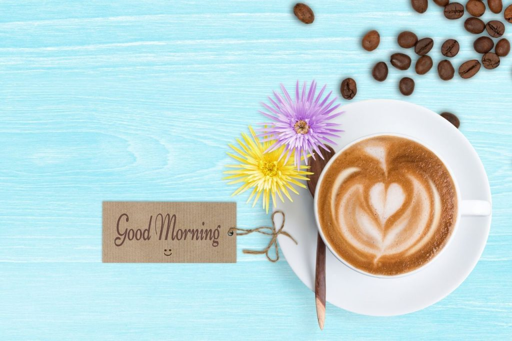 cappuccino-good morning love