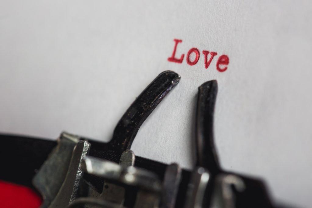 typewriter-love